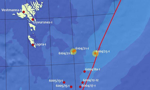 Data from the Brugdan II and Súlan/Stelkur wells has been released