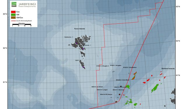 The 4th Licensing Round of the Faroe Islands now open