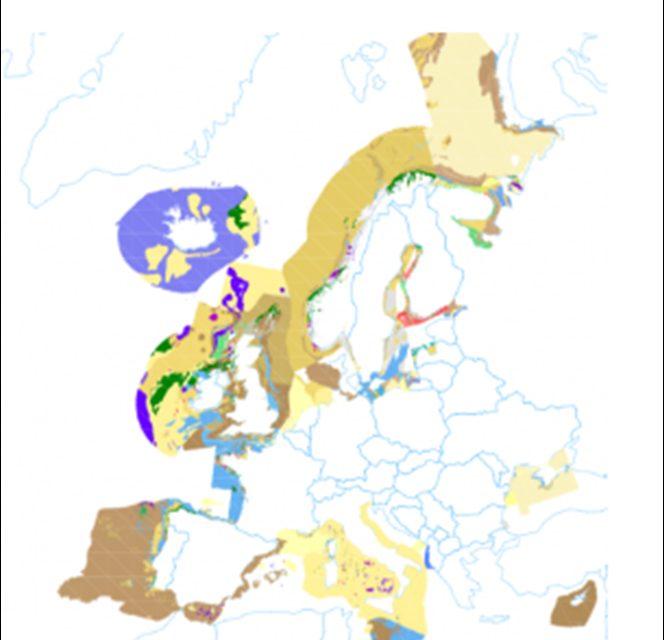 Dátur um havbotnin í Evropa gerast alment tøkar