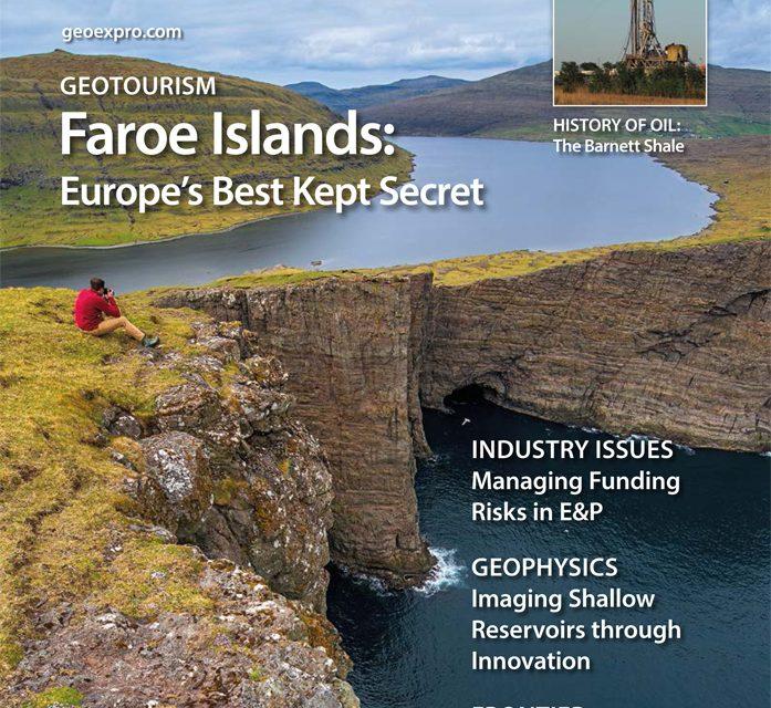 Cover story in GEOeXPro written by Jarðfeingi