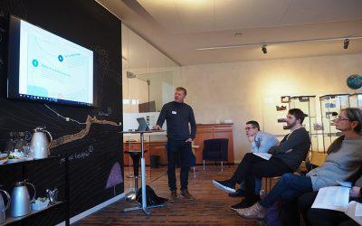 Teachers visiting Jarðfeingi: Bringing Arctic research into the Faroese schools