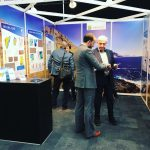 Jarðfeingi at Prospex in London marketing the 4th licensing round