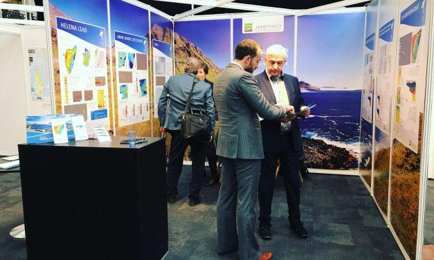 Jarðfeingi at Prospex in London marketing the 4th licensing round