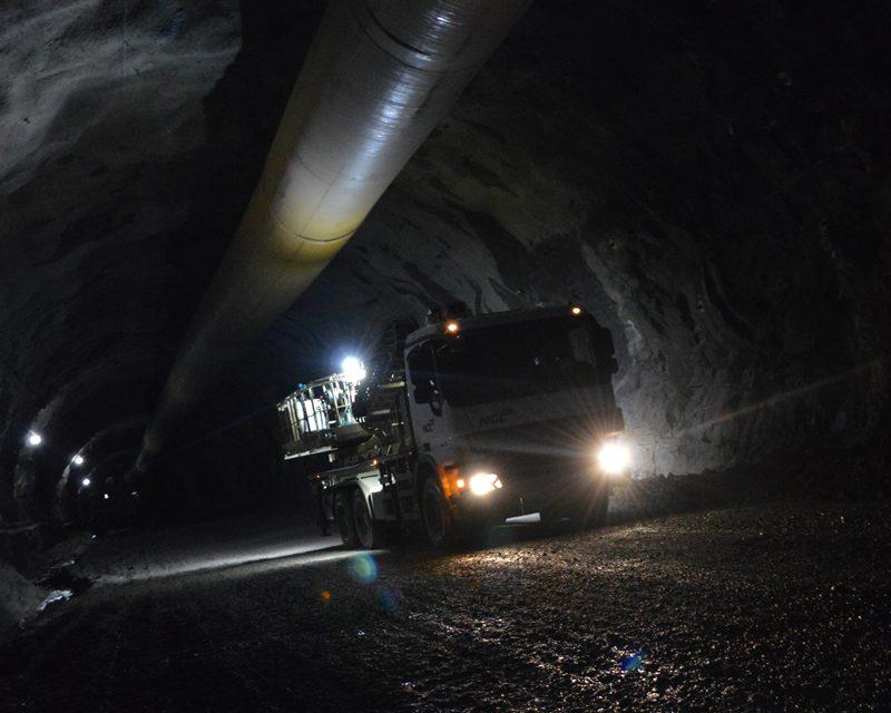 The water mystery in the sub-sea tunnel Skálafjarðartunnilin