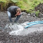 The Faroese groundwater most likely young