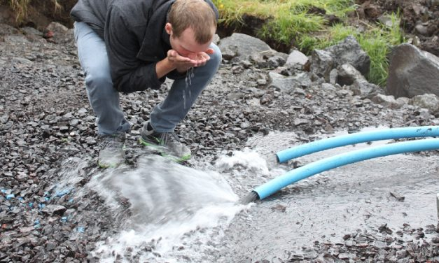 Føroyska grundvatnið mest sannlíkt ungt