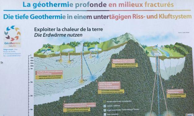 Geologists at informative deep geothermal workshop
