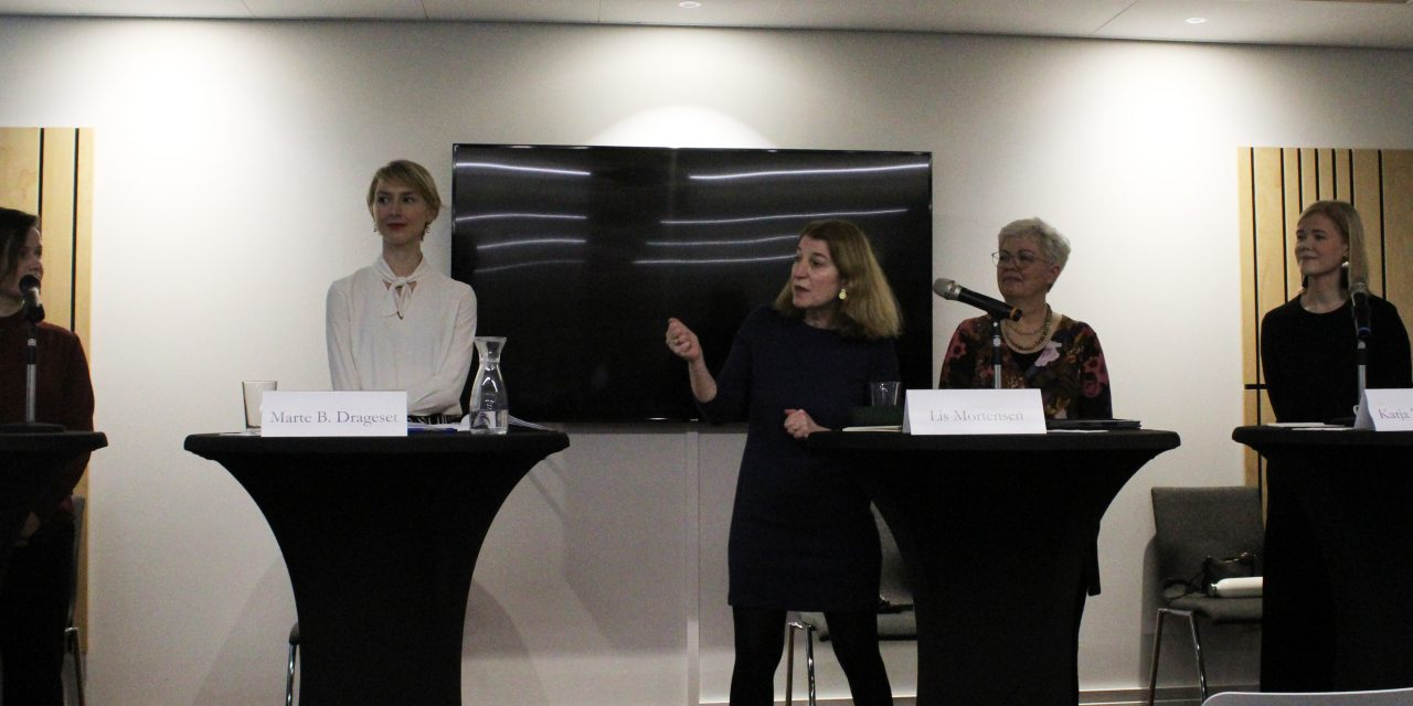 Kvinnur og føroyska náttúran á kjakfundi í Brússel