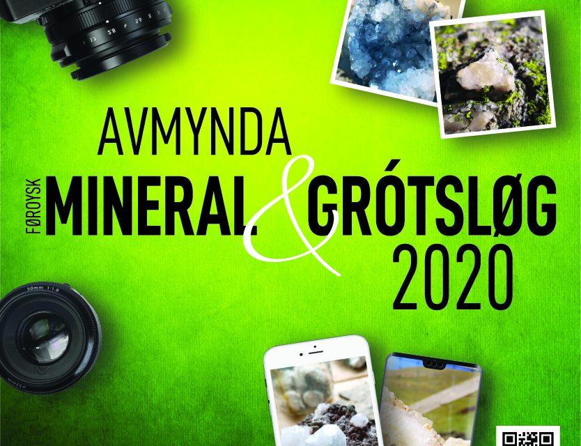 Avmynda føroysk mineral og grótsløg 2020