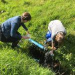 Grundvatnskanningar av heita vatninum á lygnnesi í Kollafirði
